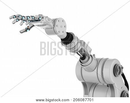 Robotic Hand With Fingers
