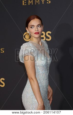 LOS ANGELES - SEP 17:  Madeline Brewer at the 69th Primetime Emmy Awards - Arrivals at the Microsoft Theater on September 17, 2017 in Los Angeles, CA