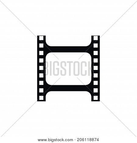 Film Vector Element Can Be Used For Cinematography, Film, Record Design Concept.  Isolated Photographing Icon.