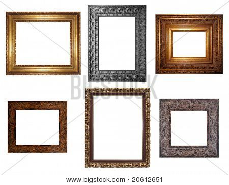 Decorative Empty Wall Picture Frames to Insert Your Designs