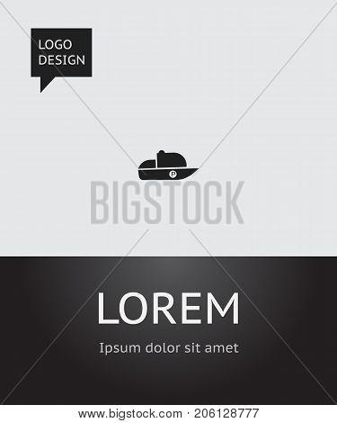 Vector Illustration Of Shipment Symbol On Speedboat Icon