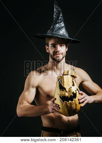 Halloween Spirit And Supernatural Concept