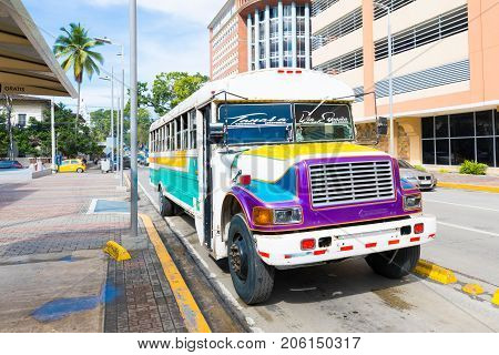 Panama City August 2017: In August, tourists visiting the city can count on public transport such as taxis and buses that ensure efficient connections at low cost to reach any point of the city