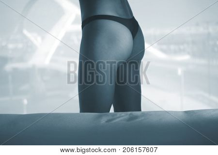 Sexy Nude Lady On Bed
