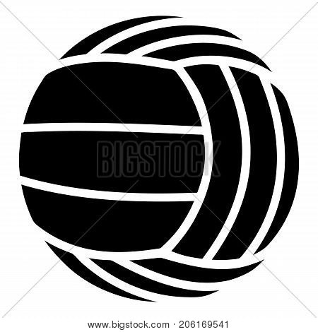 Modern volleyball icon. Simple illustration of modern volleyball vector icon for web