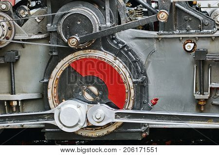 Reduction Gearing Part Of Locomotive