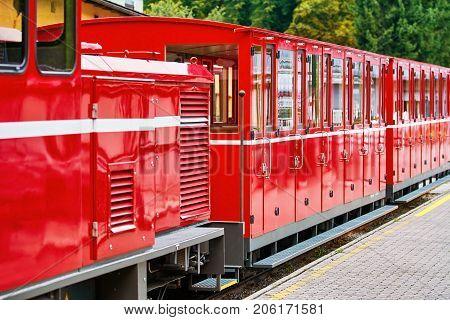 Mountain Railway Steam Loco