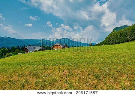 Settlement In Alps
