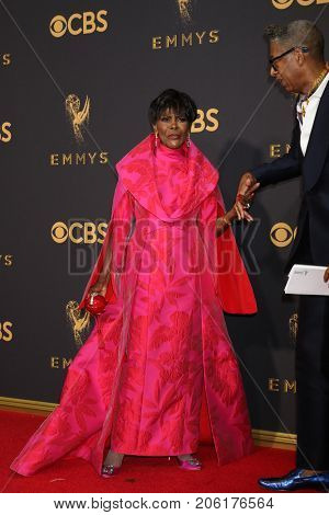 LOS ANGELES - SEP 17:  Cicely Tyson at the 69th Primetime Emmy Awards - Arrivals at the Microsoft Theater on September 17, 2017 in Los Angeles, CA