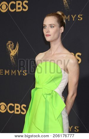 LOS ANGELES - SEP 17:  Mackenzie Davis at the 69th Primetime Emmy Awards - Arrivals at the Microsoft Theater on September 17, 2017 in Los Angeles, CA