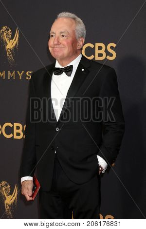 LOS ANGELES - SEP 17:  Lorne Michaels at the 69th Primetime Emmy Awards - Arrivals at the Microsoft Theater on September 17, 2017 in Los Angeles, CA