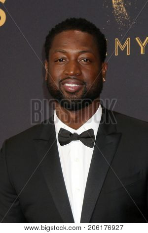 LOS ANGELES - SEP 17:  Dwyane Wade at the 69th Primetime Emmy Awards - Arrivals at the Microsoft Theater on September 17, 2017 in Los Angeles, CA