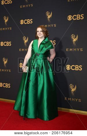LOS ANGELES - SEP 17:  Shannon Purser at the 69th Primetime Emmy Awards - Arrivals at the Microsoft Theater on September 17, 2017 in Los Angeles, CA