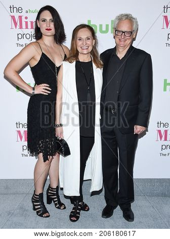 LOS ANGELES - SEP 12:  Mary Chieffo, Beth Grant and Michael Chieffo arrives for