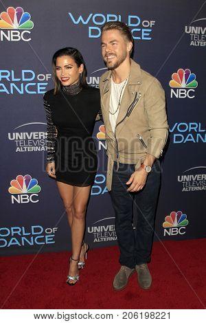 LOS ANGELES - SEP 19:  Jenna Dewan Tatum, Derek Hough at the