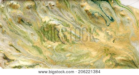 Marbled Abstract Background. Liquid Marble Golden Pattern. Colorful Marble Backdrop.