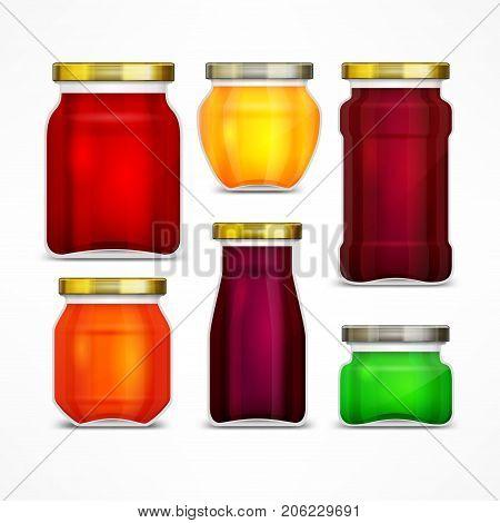 Set Of Jars With Jam