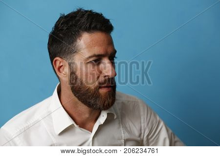 Nice man portrait