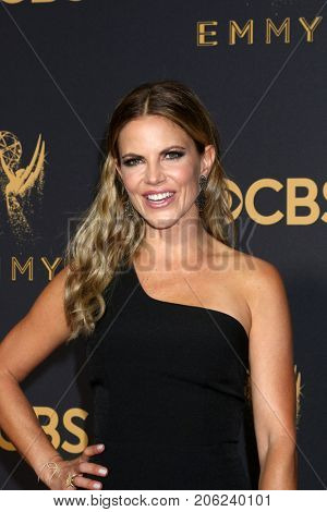 LOS ANGELES - SEP 17:  Natalie Morales at the 69th Primetime Emmy Awards - Arrivals at the Microsoft Theater on September 17, 2017 in Los Angeles, CA