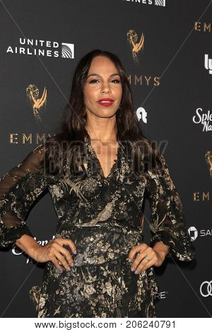 LOS ANGELES - SEP 15:  Amanda Brugel at the 69th Primetime Emmy Awards Performers Nominee Reception at the Wallis Annenberg Center for the Performing Arts on September 15, 2017 in Beverly Hills, CA