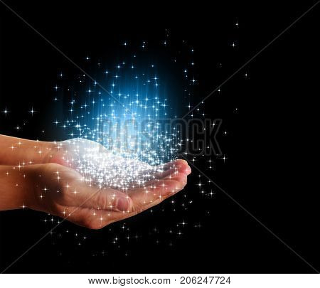 stars magic in your hands