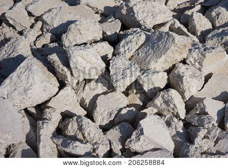 Broken Concrete from a Sidewalk