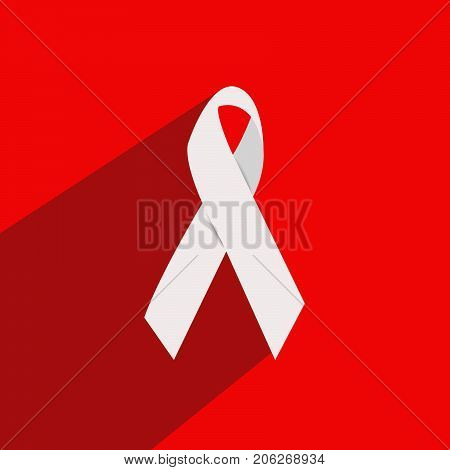 illustration of ribbon on the occasion of National Latino AIDS Awareness Day