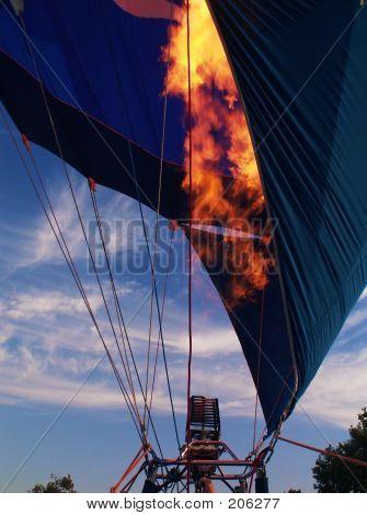 Hot Air Balloon Preparations