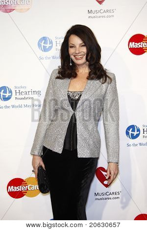 LOS ANGELES - FEB 11: Fran Drescher arriving at the Musicares Person of the Year Gala held at the Staples Center in Los Angeles, California on February 11, 2011.