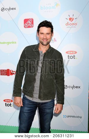 LOS ANGELES - SEP 23:  Ben Hollingsworth at the 6th Annual Red CARpet Safety Awareness Event at the Sony Pictures Studio on September 23, 2017 in Culver City, CA