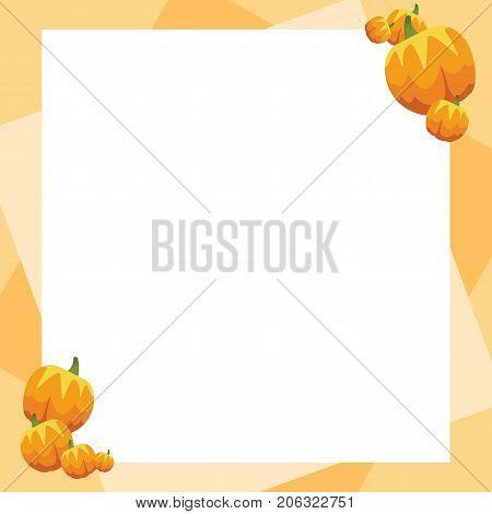 Design frame thankgiving theme collection vector illustration