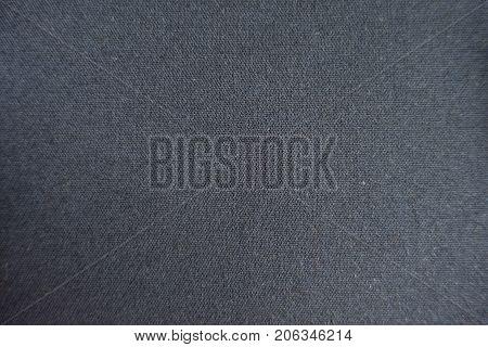 Top View Of Dark Grey Viscose Fabric