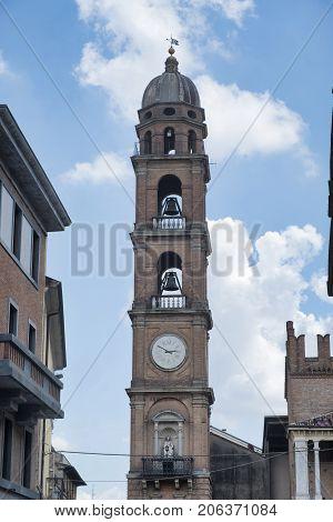 Faenza (Forli Cesena Emilia Romagna Italy): exterior of historic buildings