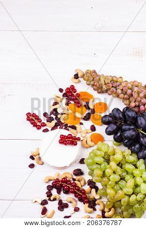 Top View Grapes