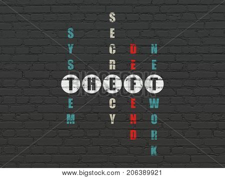 Safety concept: Painted white word Theft in solving Crossword Puzzle