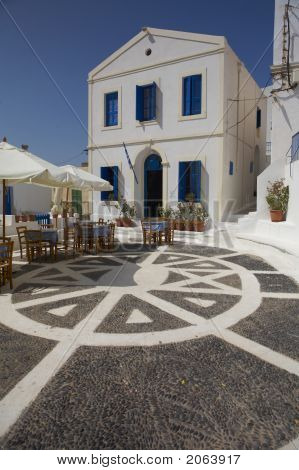 Typical Greek House