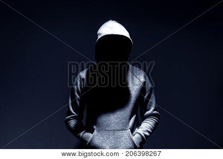 dark mysterious man hoodie murderer hacker anonymus