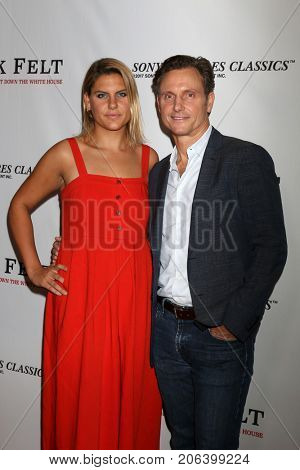 LOS ANGELES - SEP 26:  Anna Musky-Goldwyn, Tony Goldwyn at the