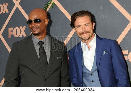 LOS ANGELES - SEP 25:  Damon Wayans, Clayne Crawford at the FOX Fall Premiere Party 2017 at the Catch on September 25, 2017 in West Hollywood, CA