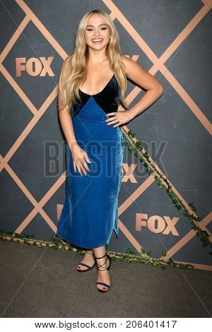 LOS ANGELES - SEP 25:  Natalie Alyn Lind at the FOX Fall Premiere Party 2017 at the Catch on September 25, 2017 in West Hollywood, CA