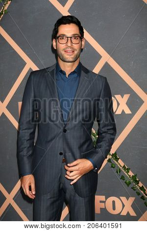LOS ANGELES - SEP 25:  Tom Ellis at the FOX Fall Premiere Party 2017 at the Catch on September 25, 2017 in West Hollywood, CA