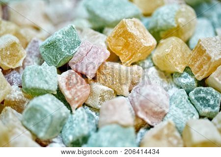 Turkish Delight Closeup