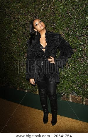 WEST HOLLYWOOD, CA - JAN 5:  Raven Symone at the COVERGIRL 50th Anniversary Celebration at BOA Steakhouse held on January 5, 2011 in West Hollywood, California.