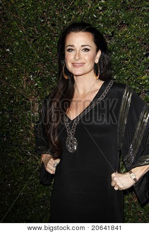 WEST HOLLYWOOD, CA - JAN 5:  Kyle Richards at the COVERGIRL 50th Anniversary Celebration at BOA Steakhouse held on January 5, 2011 in West Hollywood, California.