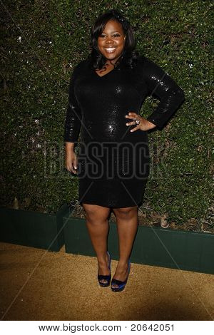 WEST HOLLYWOOD, CA  - JAN 5:  Amber Riley at the COVERGIRL 50th Anniversary Celebration at BOA Steakhouse held on January 5, 2011 in West Hollywood, California.