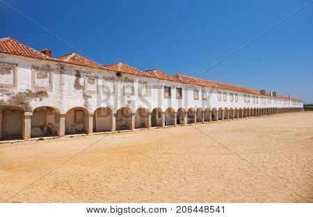 Monastery Sanctuary Of  Nossa Senhora Do Cabo Church Near Cape Espichel, Portugal