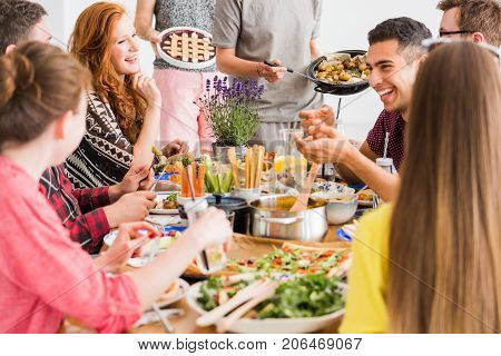 Vegan Diet And People Concept