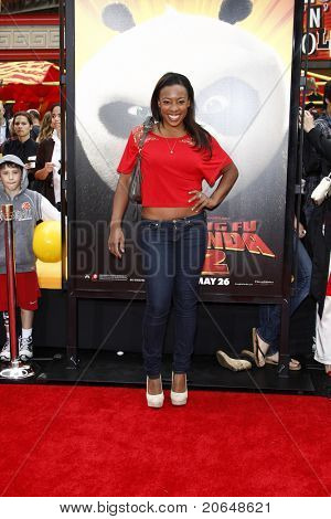 LOS ANGELES - MAY 22:  Tanya Chisholm at the premiere of Kung Fu Panda 2 at the Grauman's Chinese Theater in Los Angeles, California on May 22, 2011.