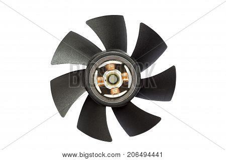 Fan Computer And Internal Mechanism