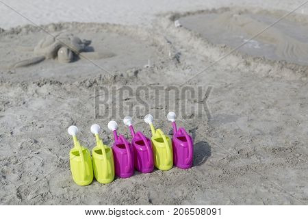 Sand Sculptures From The Beach
